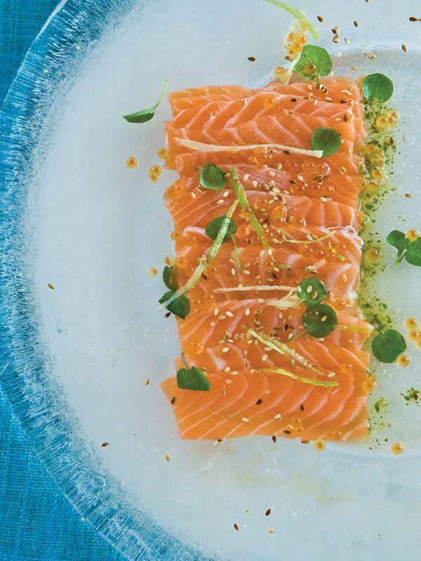how to make salmon sashimi