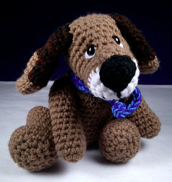Cute Cuddly Lovable Puppy Amigurumi Plush Toy - Safety ...