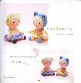 Japanese Amigurumi Chart : Amigurumi Doll ~ Free Japanese Chart AMIGURUMI FREE ...