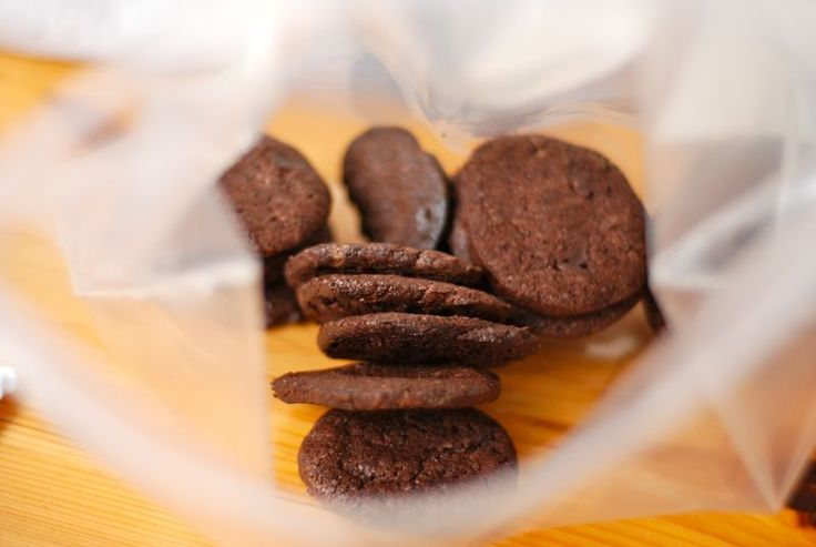 intensely chocolate sables, the wednesday chef via smitten kitchen