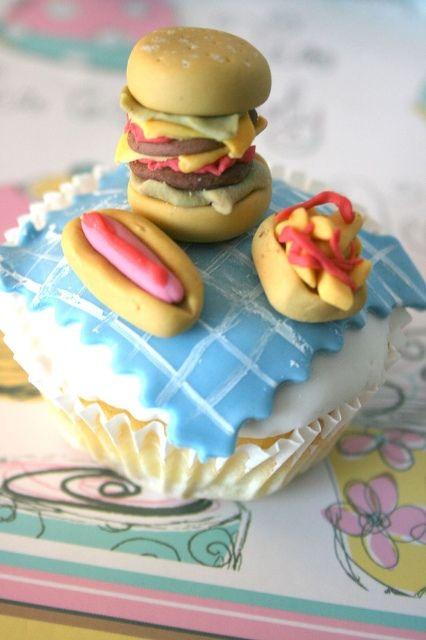 fast food cupcakes