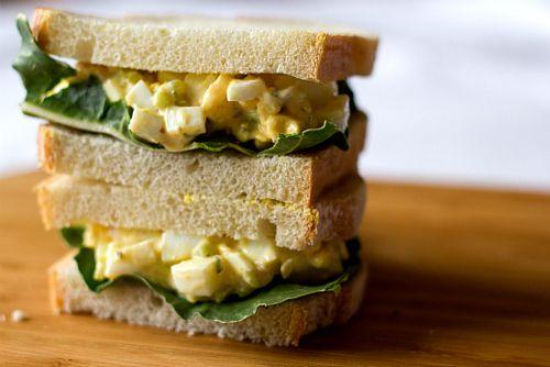 Egg Salad Sandwich | Buen Provecho | Pinterest