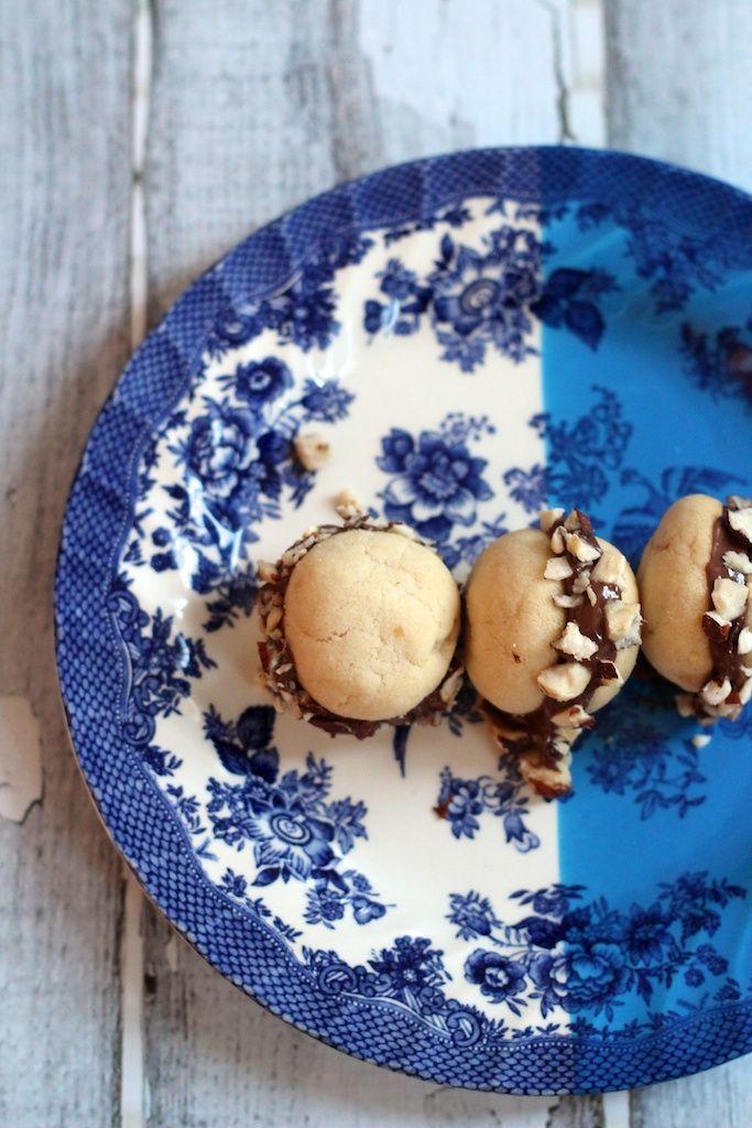 Baci di Dama Cookies | Entertaining Guests | Pinterest