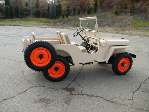 '46 Willys CJ2A | Dream Garage | Pinterest