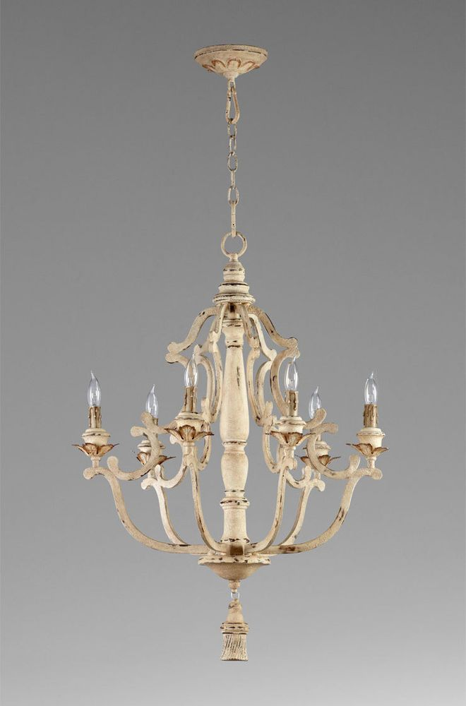 IRON amp WOOD CHANDELIER 6 Light White Finish French  : b786e45eb0165b89c54665584a1f4f88 from pinterest.com size 660 x 1000 jpeg 40kB