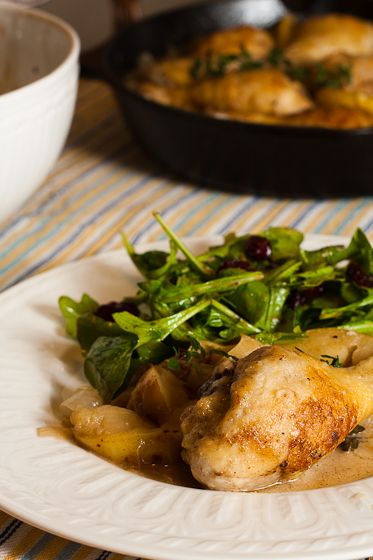 Chicken Normandy (Chicken with apples) | Recipes | Pinterest