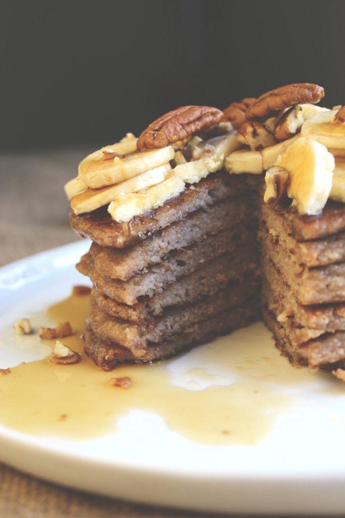 Banana Pecan Pancakes | foodie | Pinterest