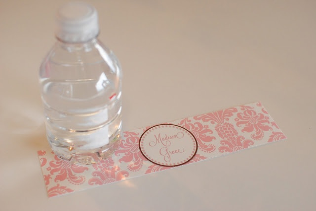 DIY Printable Water Bottle Labels Party Planning Pinterest