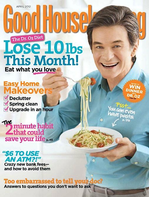 April 2012 dr oz celebrity magazine covers pinterest