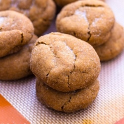 Soft Gingersnaps | A Balanced Diet is a Cookie in Each Hand | Pintere ...