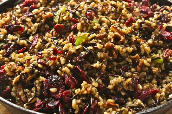 Wild Rice Stuffing | let us give thanks. | Pinterest