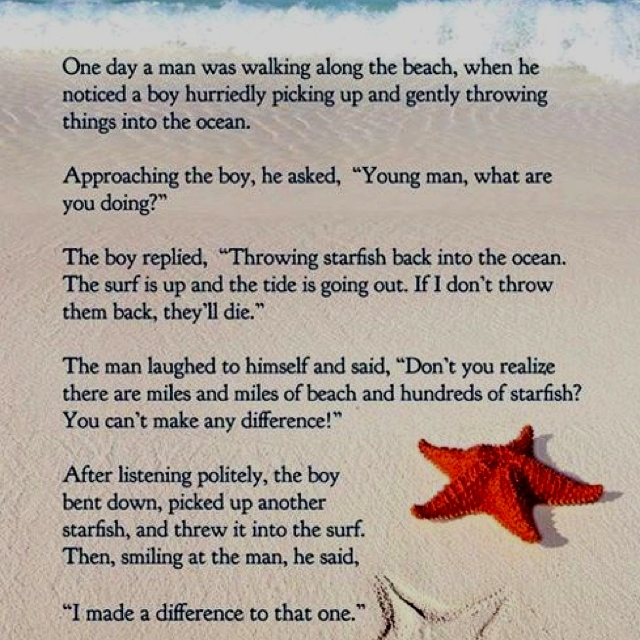Starfish poem printable tore2 net