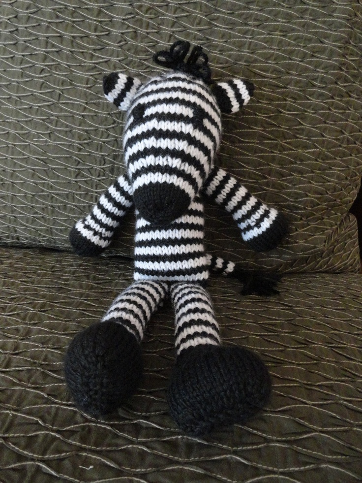 Knitting Pattern For Zebra : Pinterest: Discover and save creative ideas