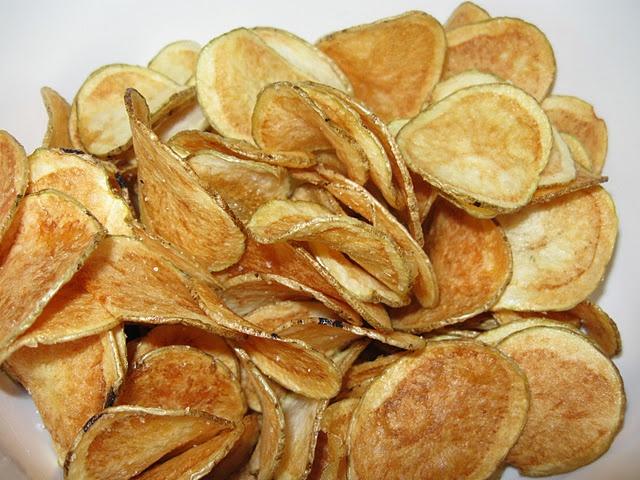 Homemade Potato Chips! | Recipes | Pinterest