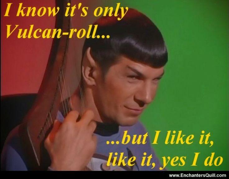 Star Trek Spock Meme Star Trek meme - Spock...