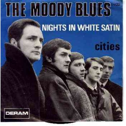 Moody blues nights in white satin all time favourite singles pint