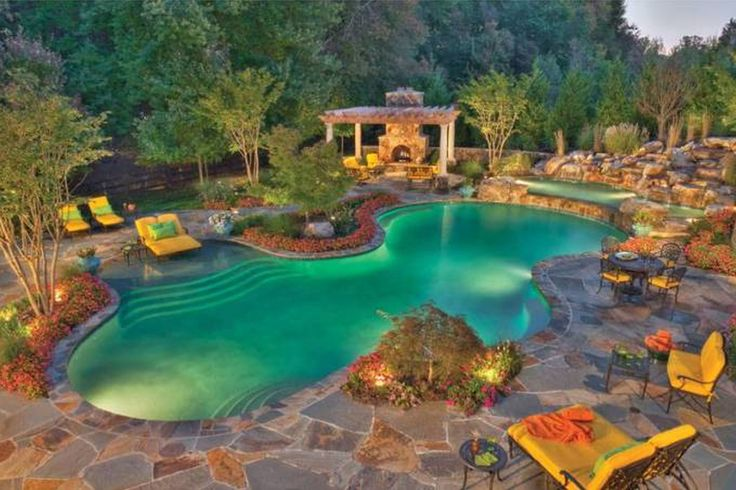 Backyard Images With Pool : pool designs and landscapingLandscaping Ideas Small Backyard