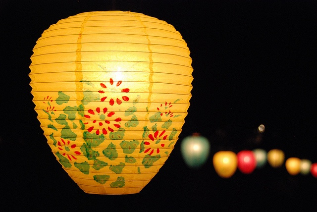 Illumination night lanterns, Northampton MA by p'titesmith12, via Flickr