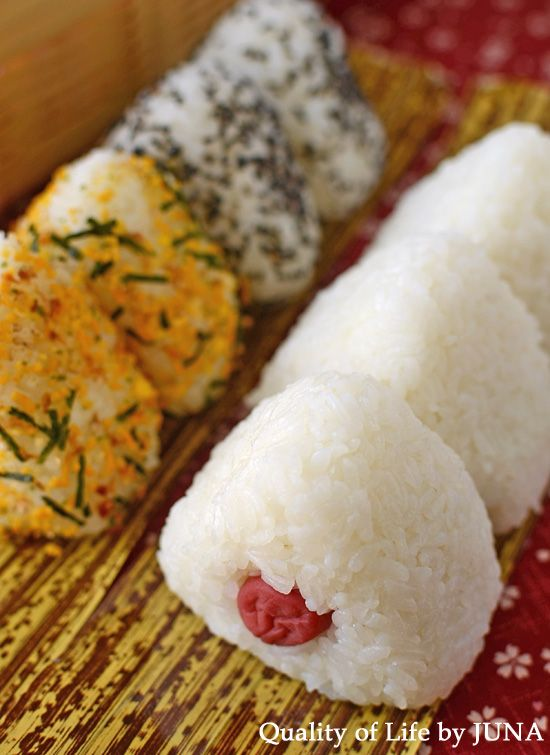 Japanese rice balls, Onigiri | Japanese Culture | Pinterest