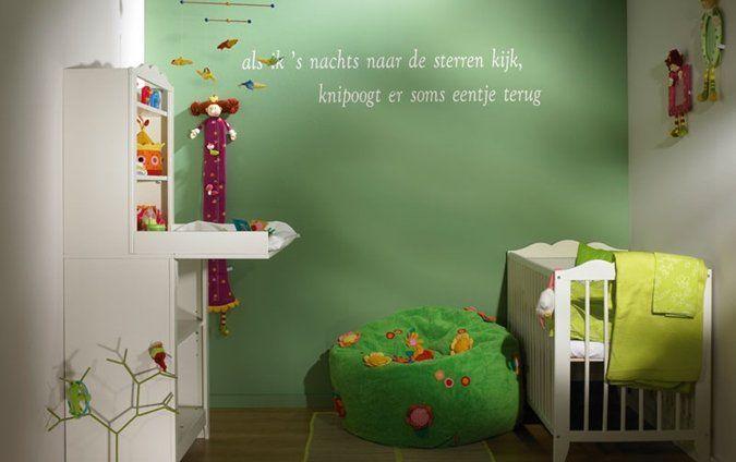 Kinderkamer Kleur Ideeen : kinderkamer spreuken Meubels/inrichting ...