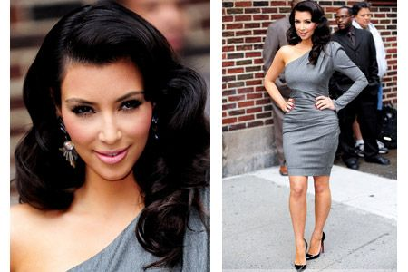 kim kardashian valentine's day dress