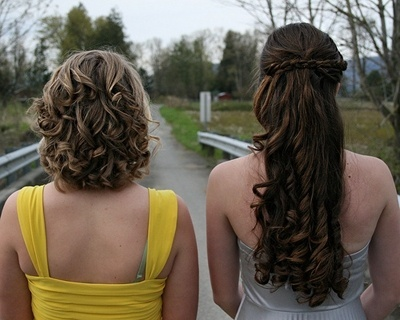 Curly Prom Hairstyles Tumblr