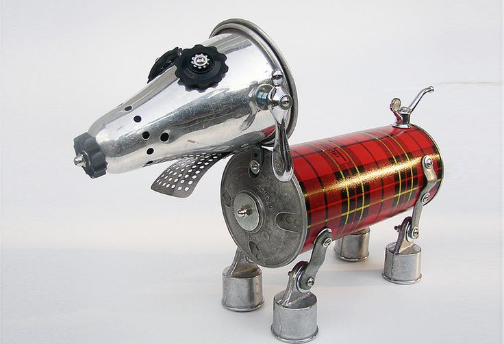robot_reciclado_3 | Robots | Pinterest
