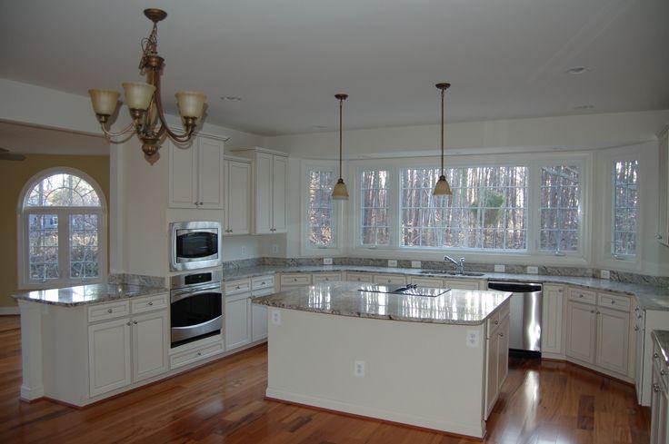 Kitchen with sunroom kitchen pinterest for Quaker kitchen design