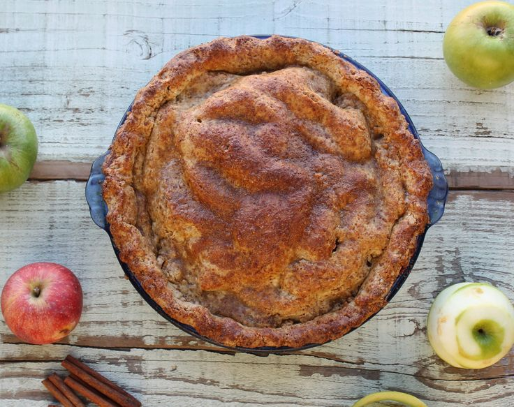 Paleo Apple Pie @Zenbelly | Paleo Plans | Pinterest