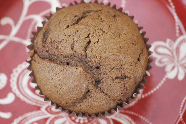 My story in recipes:Dark Chocolate Cherry Muffins