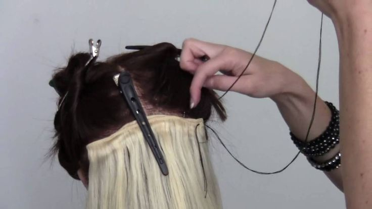How Do Weft Hair Extensions Work 119