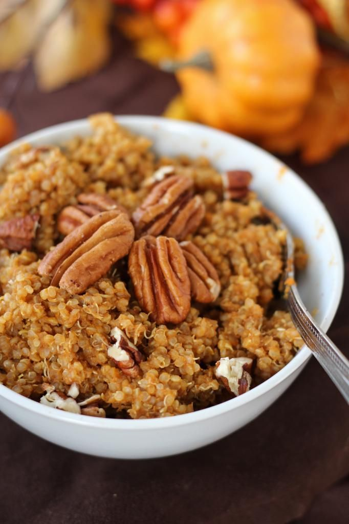 Pumpkin Spice Breakfast Quinoa. | Food & Drink | Pinterest