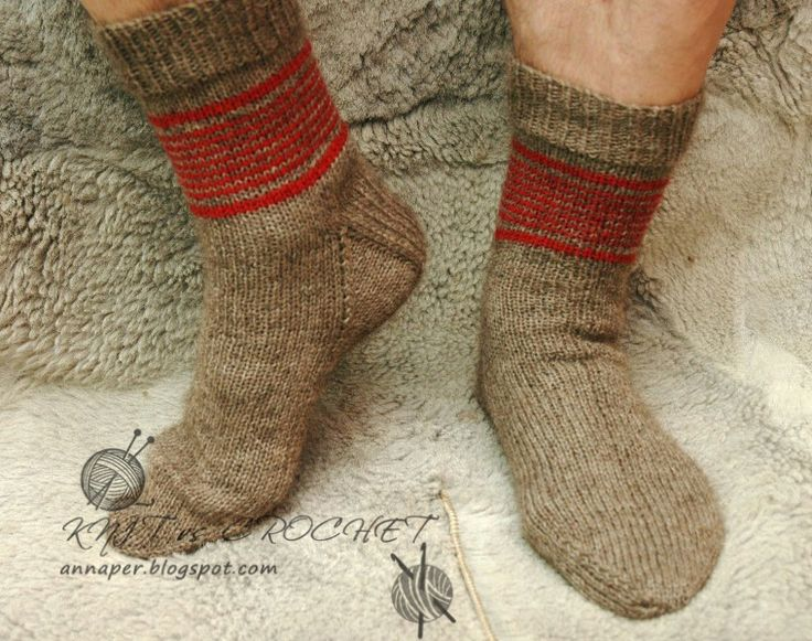 KNIT vs CROCHET: ????? ??? ?????? socks Pinterest