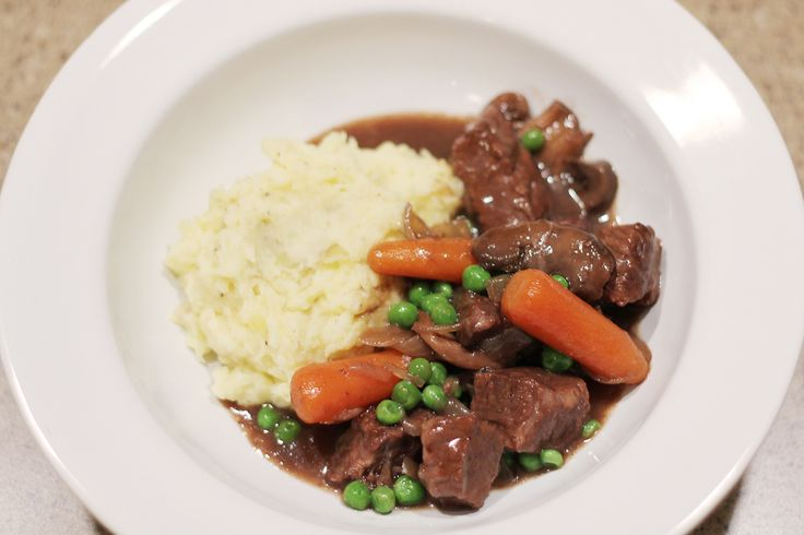 cook :: slow cooker beef stew with red wine