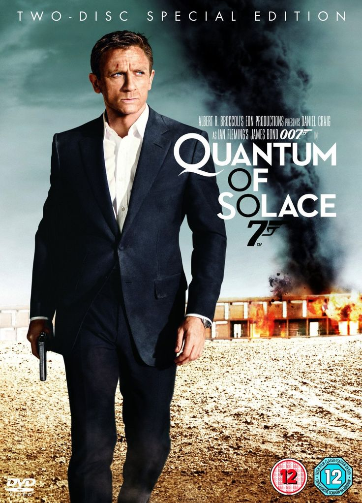 Quantum of Solace Two-Disc Special Edition DVD 2008: Amazon.co.uk ...