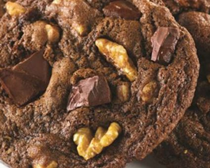 Double Chocolate Chunk Mint Cookies Recipe | The Daily Meal
