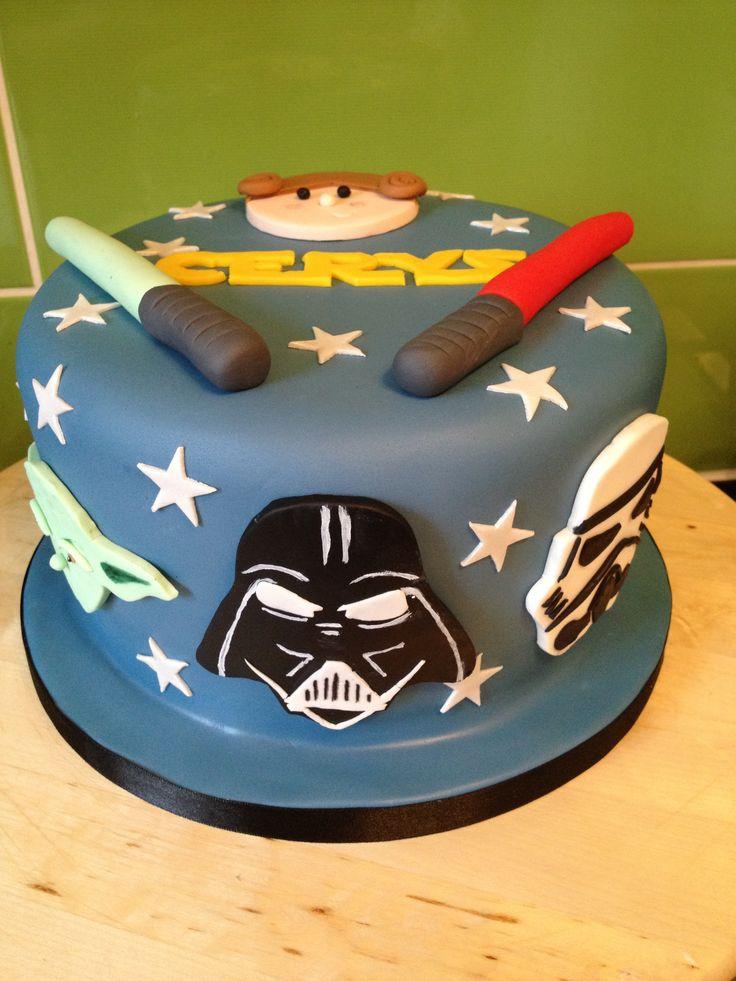 Star Wars Cake Design Pinterest : Star Wars Cake Birthday Party Ideas Pinterest