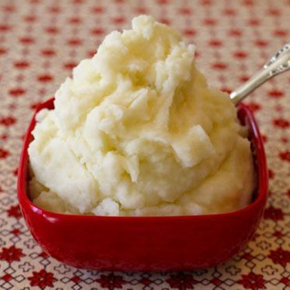Mascarpone Chive Mashed Potatoes Recipe — Dishmaps