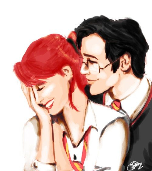 harry & ginny or james & lily?