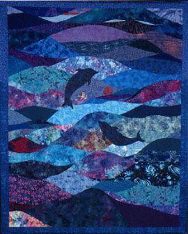 Deep blue sea quilt