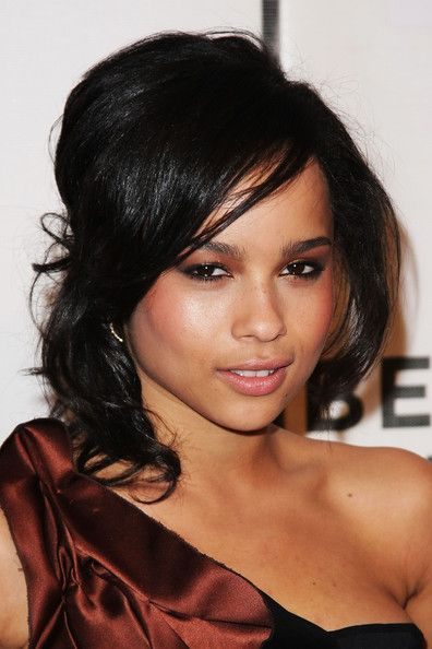 Zoe Kravitz Half Up Half Down