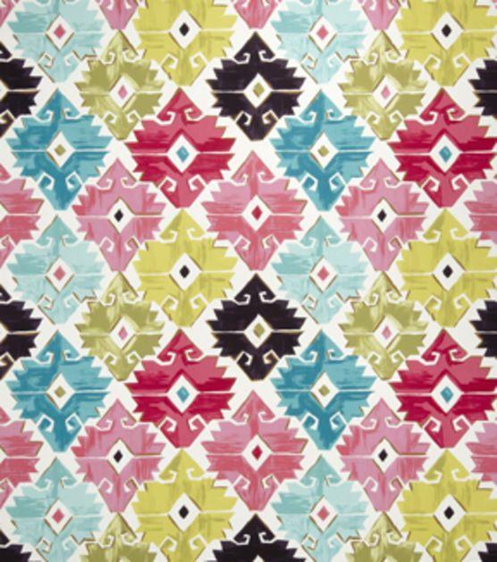 Home Decor Print Fabric-Eaton Square Rogue-Tropical Geometric, , hi ...
