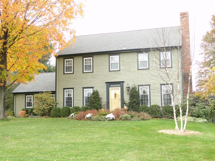 Reproduction Saltbox Colonial Houses Pinterest