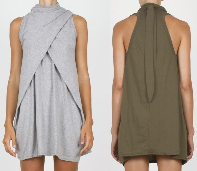 Как сшить платье из тонкого трикотажа 17