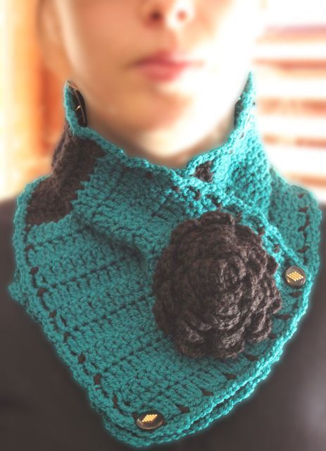 Crochet Neck Warmer : Crochet Neck Warmer My Creations Pinterest