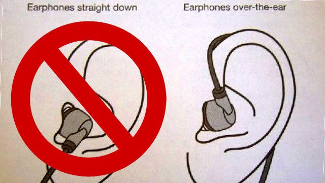 how to keep earbuds not falling