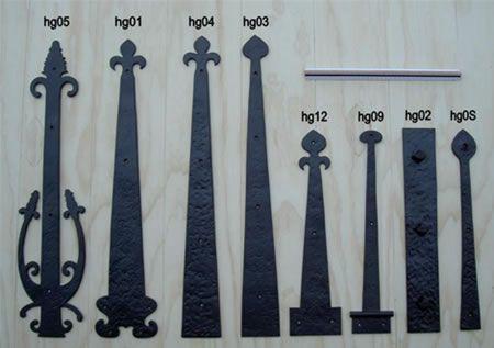 Hinge Detail For Garage Doors For The Home Pinterest