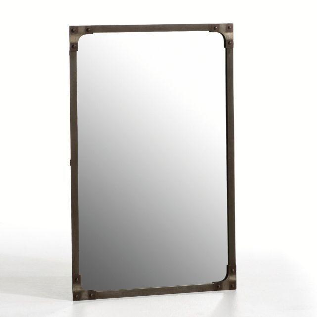 miroir style industriel lenaig d co pinterest. Black Bedroom Furniture Sets. Home Design Ideas