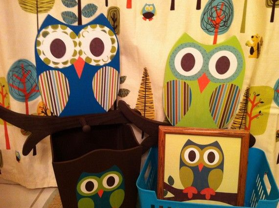 Owl Bathroom Collection
