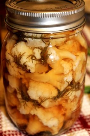 lemony pickled cauliflower...Tried recipe and sooo Yummmy